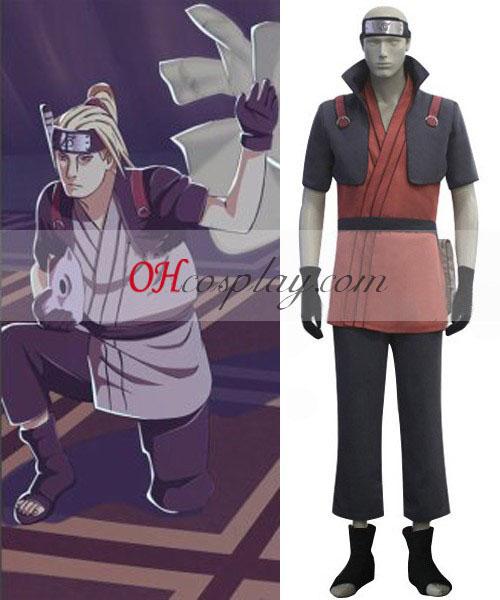 Naruto Shippuuden Yamanaka Fu Cosplay öltözetben