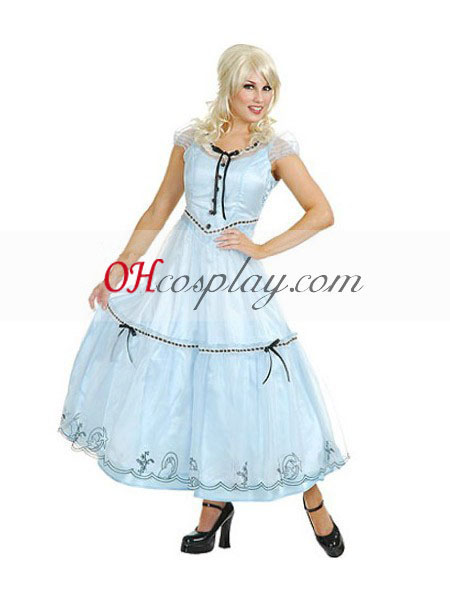 Alice i Underlandet Alice Movie Cosplay Kostym
