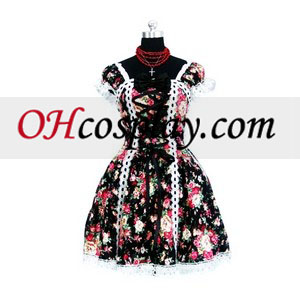Tailor-made Motley Gothic Lolita Cosplay Costume
