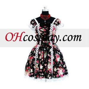 Po meri gotski Lolita zalitih Cosplay kostumov