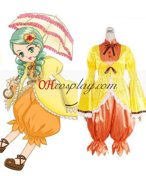 Rozen моминско Kanaria Лолита Cosplay костюм