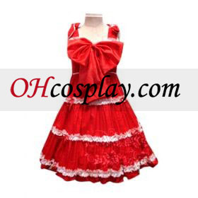 Bow Princess pukea Lolita Cosplay asu