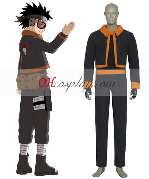 Naruto Obito Uchiha Young Boy Cosplay Costume