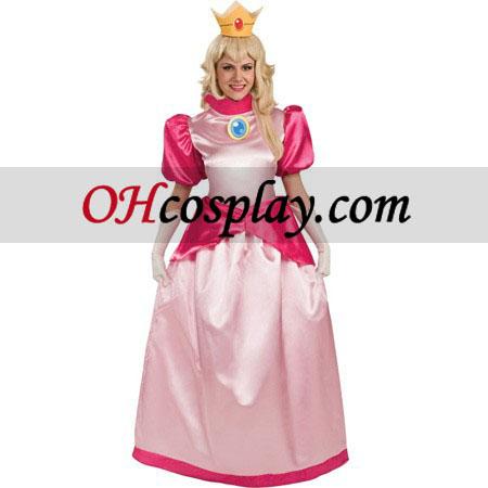 super mario bros princess peach kost m. Black Bedroom Furniture Sets. Home Design Ideas