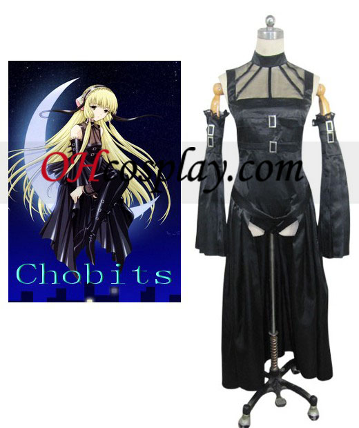 Freya Black Cosplay Kostym från Chobits