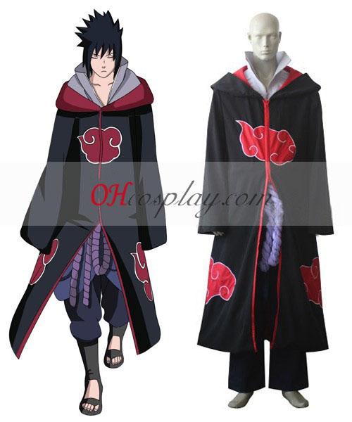 Uchiha Sasuke Naruto Shippuuden Cosplay Team taka sólyom öltözetben