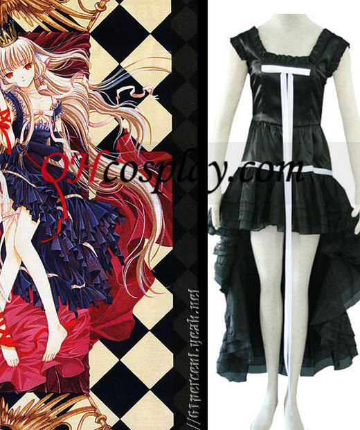 Chi Black Dress Cosplay Costume since Chobits