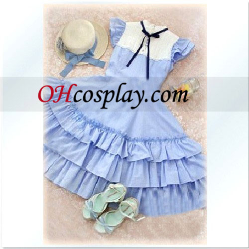 Hawaii Ocean Cute Girl Lolita Cosplay Kostym