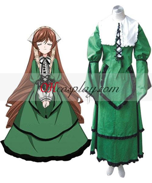 Rozen Maiden Jade Stern Lolita Cosplay kostyme