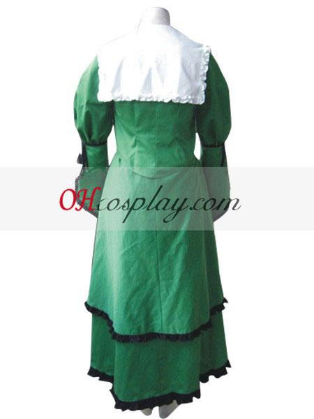 Rozen моминско от нефрит кърмовото Лолита Cosplay костюм
