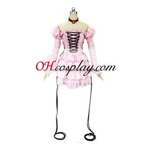 chii chobits קוספליי lolita לבוש בגד ים ורוד בגודל קטן
