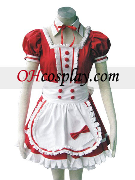 Red Precious Stone Love Cosplay Costume