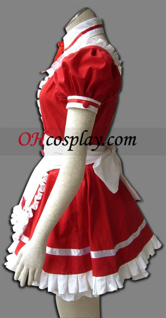 Червен скъпоценен камък любов Cosplay костюм
