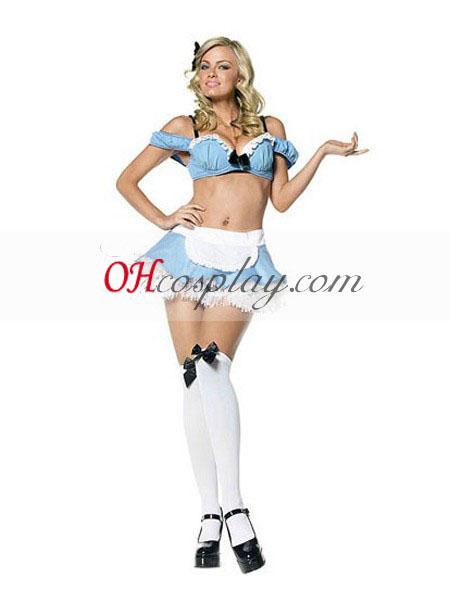 Alice i Eventyrland Alice Hot Sexy Kjole udklædning Kostume