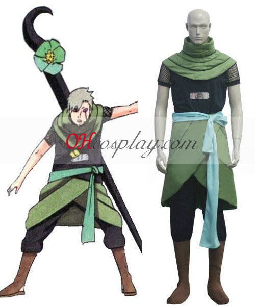 Seriálu Naruto Shippuude Three-Tailed Giant Turtle Yagura Cosplay kroj