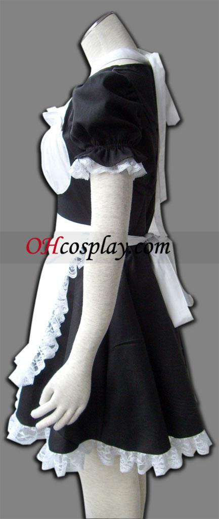 Черен двукрилен ъгъл Cosplay костюм