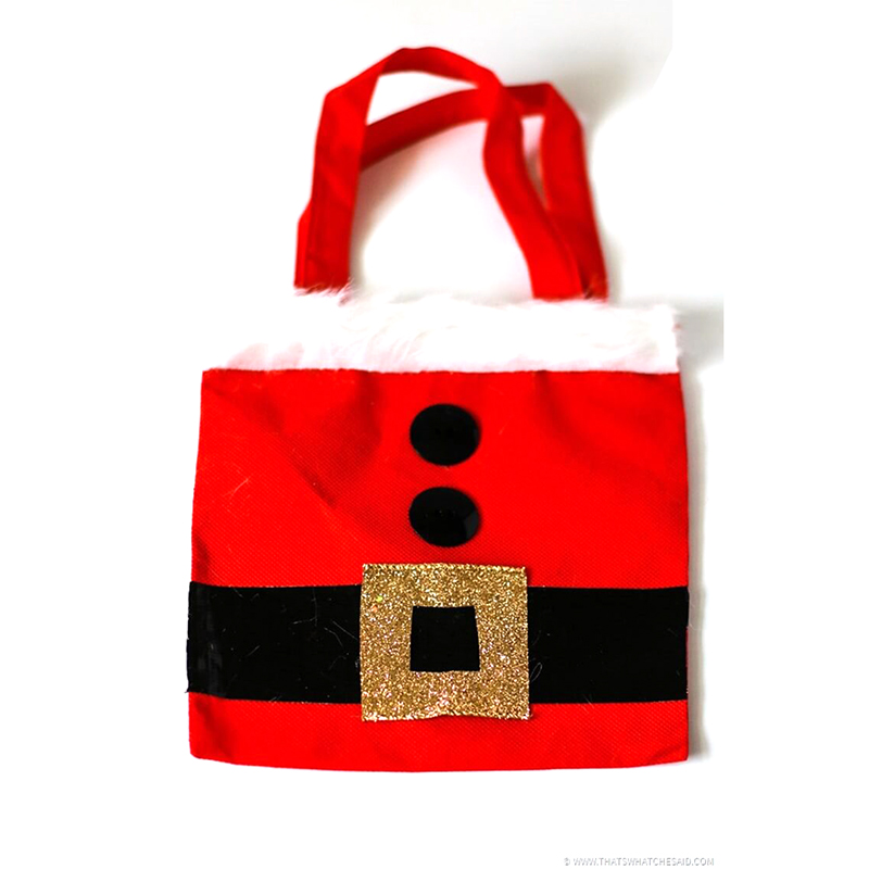 Christmas Santa Claus Midden Gift Bag