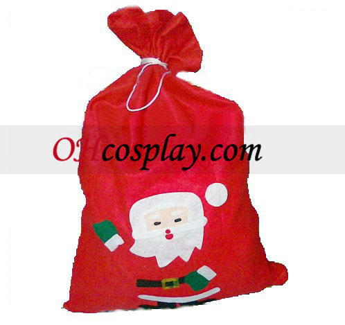 Stor Jul Santa Claus Gift Bag