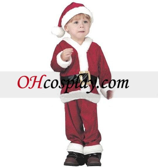 Christmas Santa Claus Costume kids Cosplay Costume