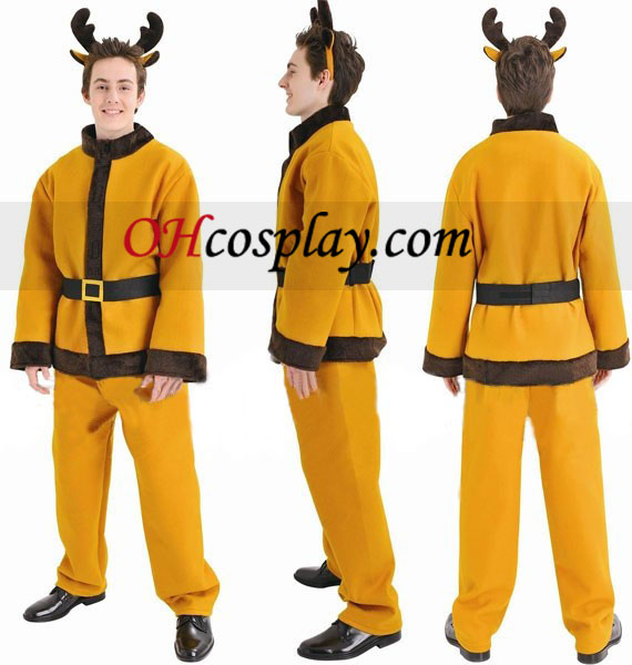 Christmas Reindeer Suit Cosplay Costume