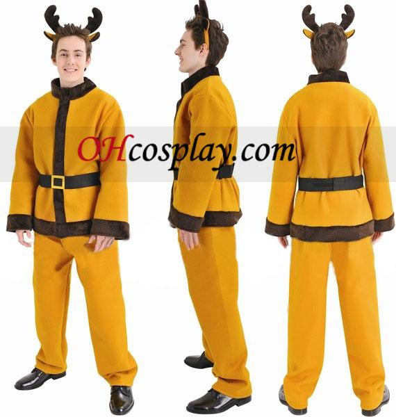 Julrenen Suit Cosplay Kostym