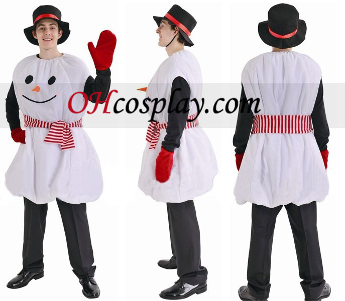 Christmas Snowman Cosplay Costume