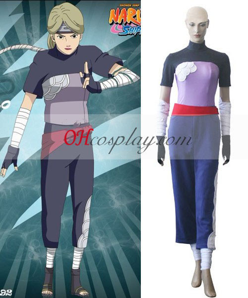 Naruto Two-Tailed Cat Yugito Nii Cosplay Costume