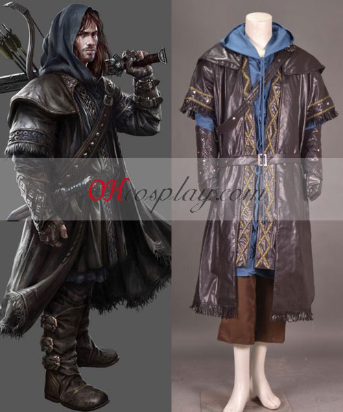 Kili uit The Hobbit Cosplay Kostuum