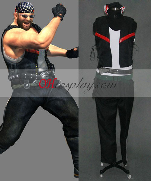 Dead or Alive Bass Armstrong Cosplay Costume