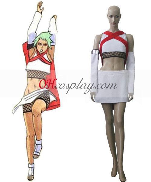 Naruto Shippuuden Seven-Tailed gehoornde Beetle Fu Cosplay Costume