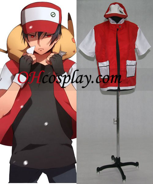 Ash Ketchum Cosplay Costume From Pokemon