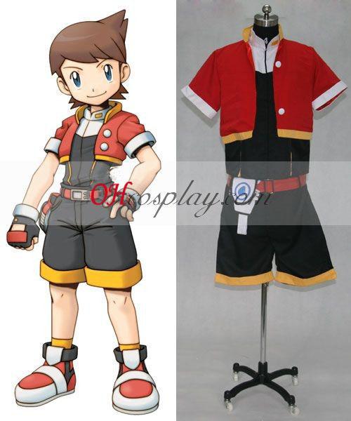 Kellyn Cosplay Kostym Från Pokemon Ranger