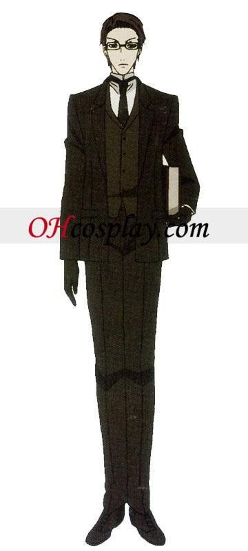 ויליאם T. קוספליי תלבושות שחורות משרת