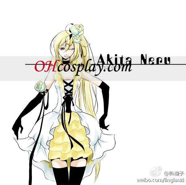Vocaloid Akita Neru Camellia udklædning Kostume
