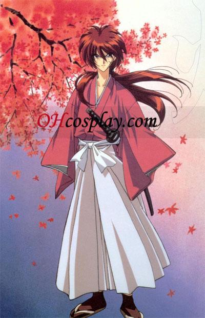 Rurouni Kenshin Himura Kenshin udklædning Kostume