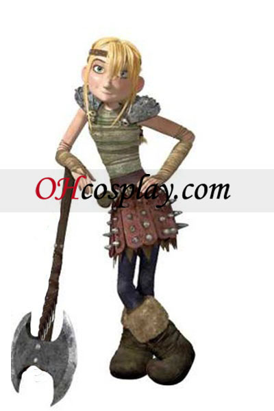 How to Train Your Dragon Astrid Costume Carnaval Cosplay