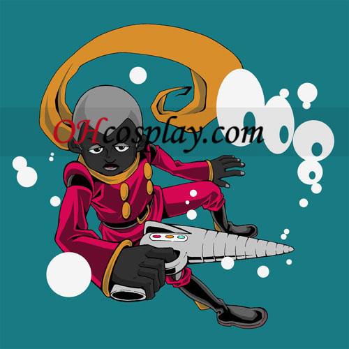 A kiborg Pyunma jelmezben 008 cosplay