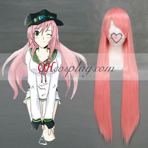Air Gear Watalidaoli Simca rose perruque de Costume Carnaval Cosplay