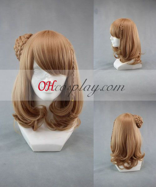 Amnesia Heroine Brown Cosplay Wig