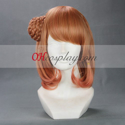AMNESIA Heroine Red Brown Cosplay Wig