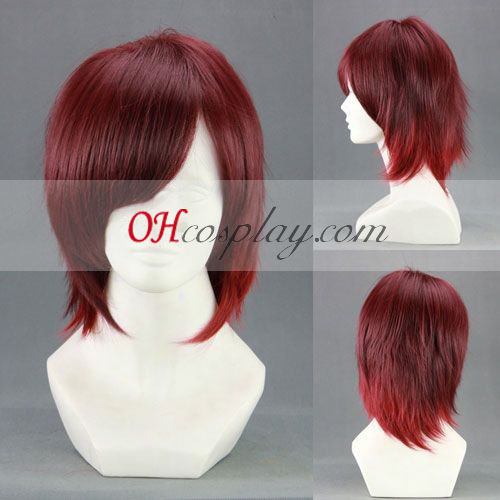 AMNESIA Shin Red Cosplay Wig
