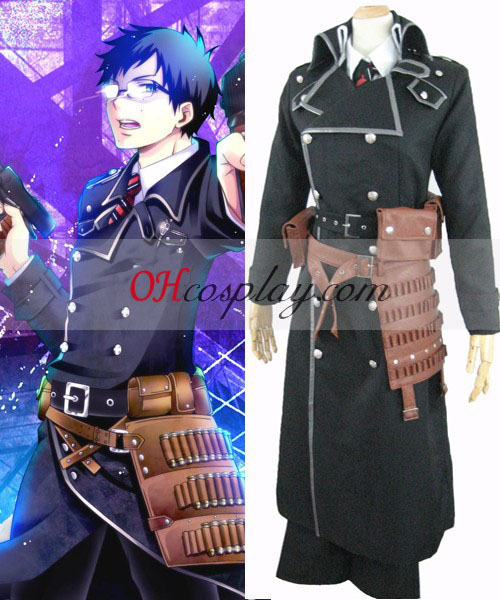Ao don't your family think Exorcist Yukio Okumura Battle Cosplay Costume