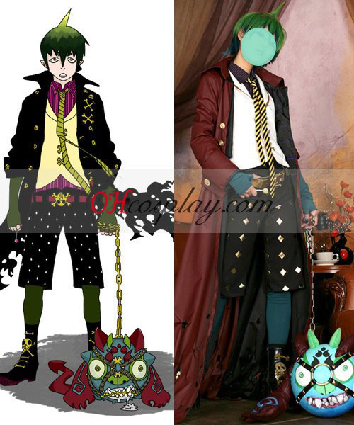 Ao ingen Exorcisten King of Earth Amaimon Cosplay Kostym