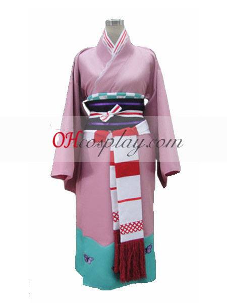 Ao č. exorcista Moriyama Shiemi Kimono Cosplay kroj