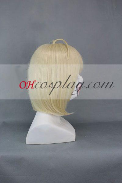 Ao № Exorcist Moriyama Shiemi жълт Cosplay Wig