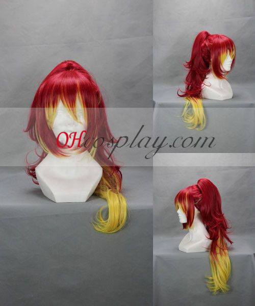Ao no Exorcist Kilikaku Yula Red Cosplay Wig