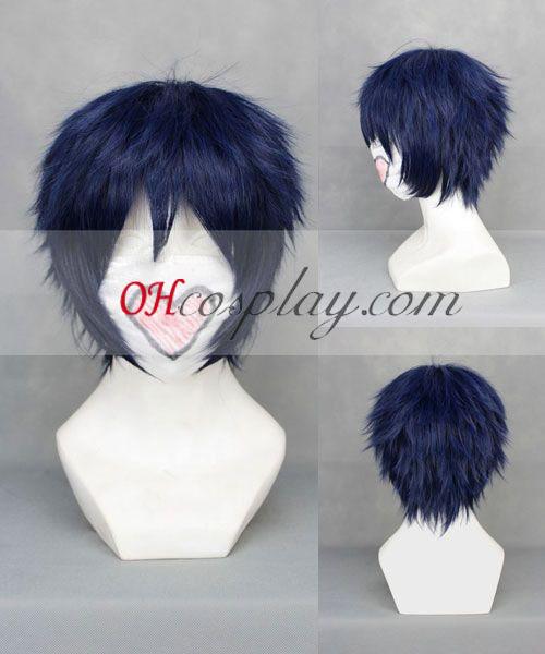 Ao ingen Exorcist Okumura Rin Dark Blue udklædning Paryk