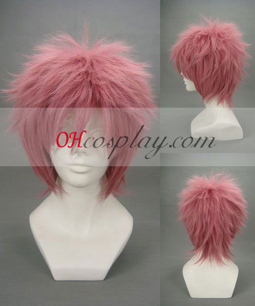 Ao ingen Exorcist Shima Renzou Pink udklædning Paryk