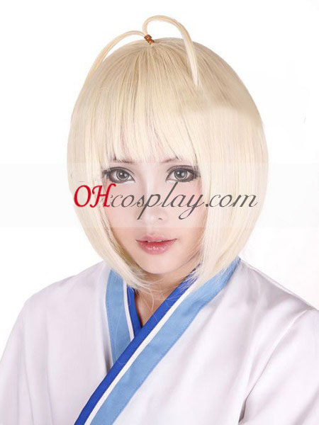 Ao Big Party Exorzist Moriyama Shiemi Kimonos Cosplay Perücke