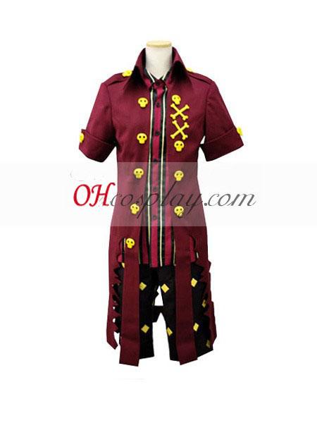 Ao č. exorcista King of Earth Amaimon Shirt Cosplay kroj